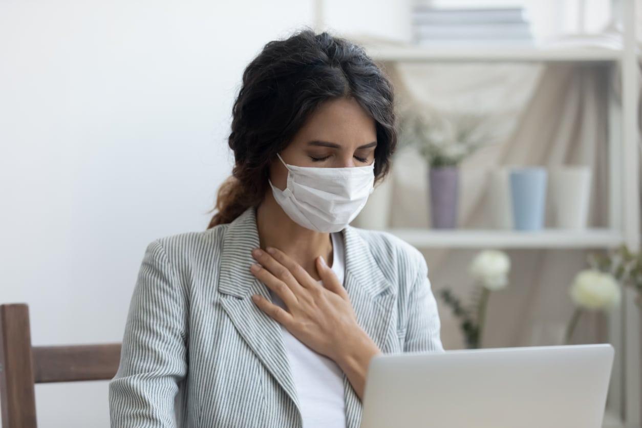 Cómo respirar mejor al llevar mascarilla
